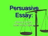 NAPLAN TIME!  Persuasive Essay 8th Grade