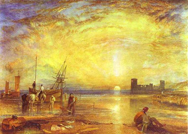 Flint castle, di William Turner