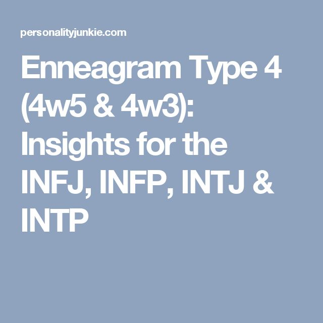Enneagram Type 4 (4w5 & 4w3): Insights for the INFJ, INFP, INTJ & INTP