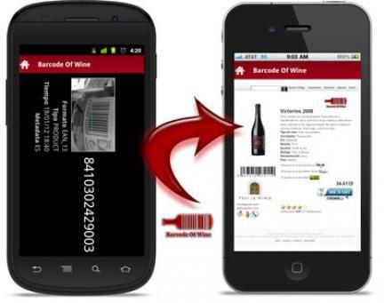 [App]Barcode of Wine.. Recomendaciones de vinos utilizando códigos de barras