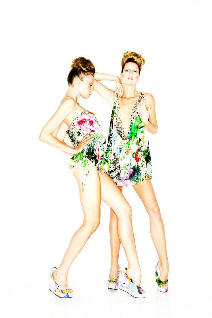 AMAZONIA - Playsuit & billowy mini dress  | SS10 | BABYLON | @CAMILLAWITHLOVE #CAMILLAWITHLOVE
