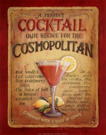 Cosmopolitan Print by Lisa Audit at AllPosters.com