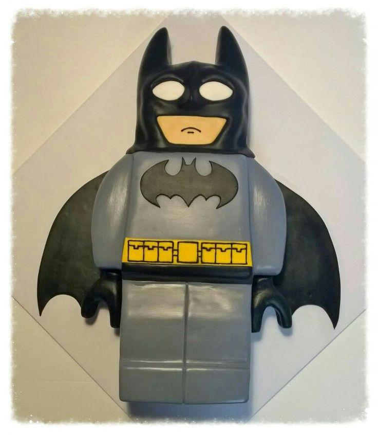 Lego Batman cake.