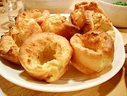 recipe for Yorkshire Pudding