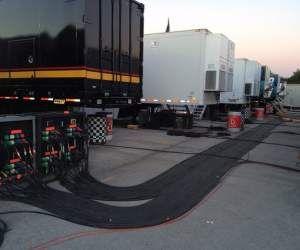 Power Distro at Homestead NASCAR TV Compound