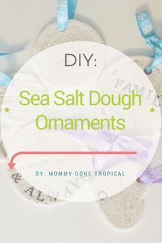 How To Make Sea Salt Dough Ornaments – #Dough #ORN…