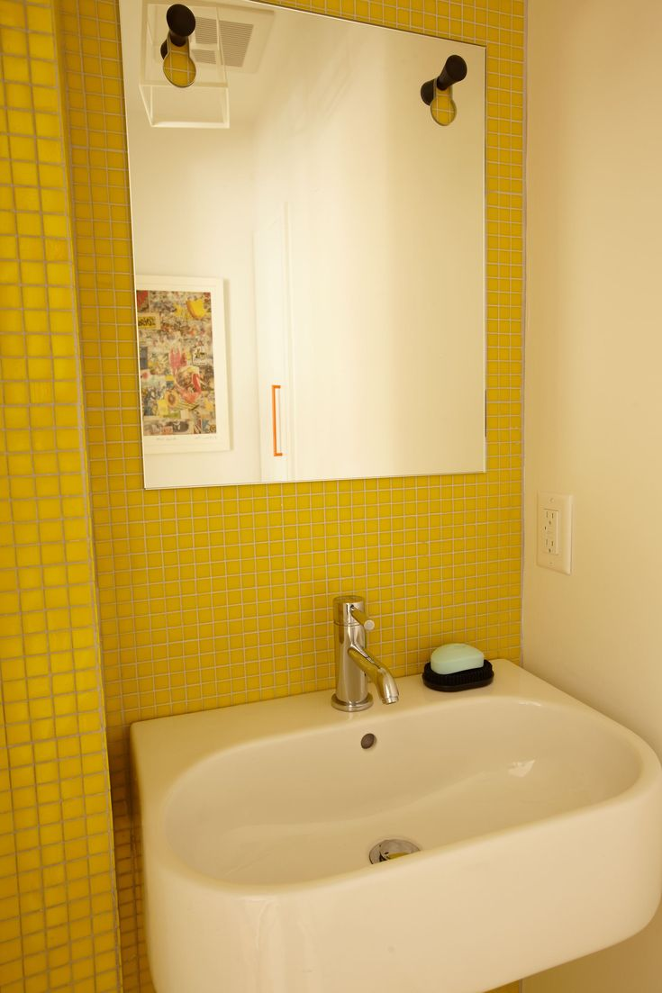 51 best Home style: Summer Yellow images on Pinterest | Bathroom ...