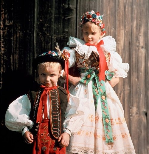 Folk costumes of Czech Republic