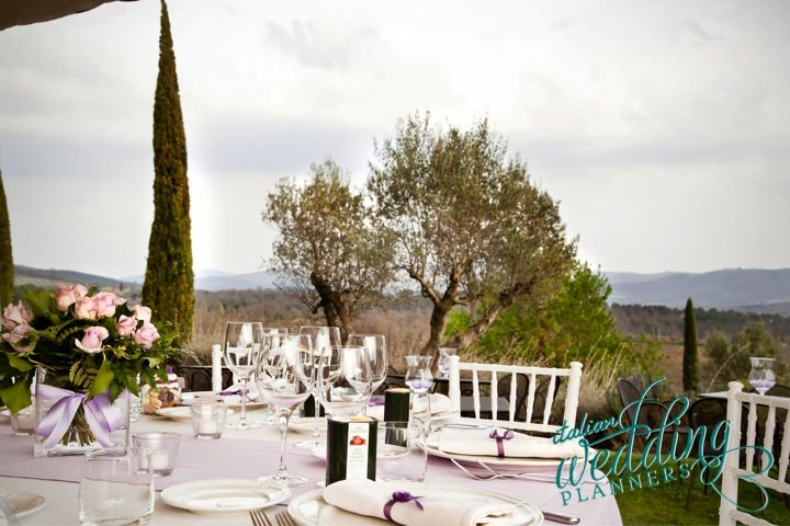 Chic country reception