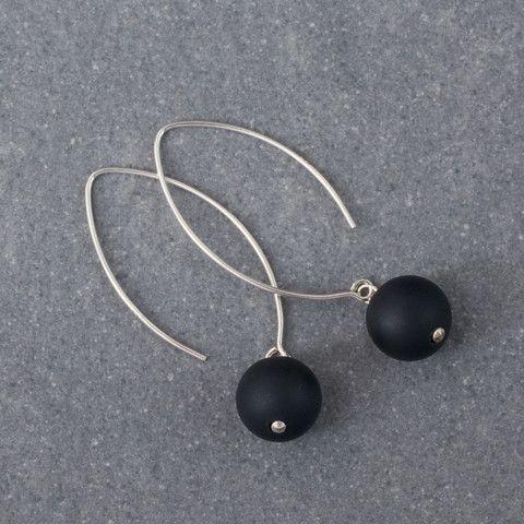 Classified Onyx Earrings