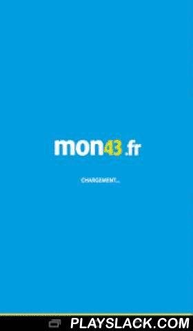 """Mon43.fr - Haute-Loire  Android App - playslack.com , L'application mon43.fr vous permet de suivre à tout moment l'actualité de la Haute-Loire, de ses villes (Le Puy-en-Velay, Yssingeaux, Brioude, Monistrol-sur-Loire, Sainte-Sigolène, Langeac…), mais aussi de ses villages.Grâce à la rubrique """"Ma commune"""", vous allez en effet pouvoir découvrir les petites et grandes infos au plus près de chez vous, gratuitement et au quotidien. L'application du seul site d'informations hyperlocales de…"""