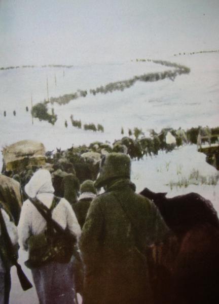 World war II; italian retreat in Russia ..... Seconda guerra mondiale; ritirata italiana in Russia ...