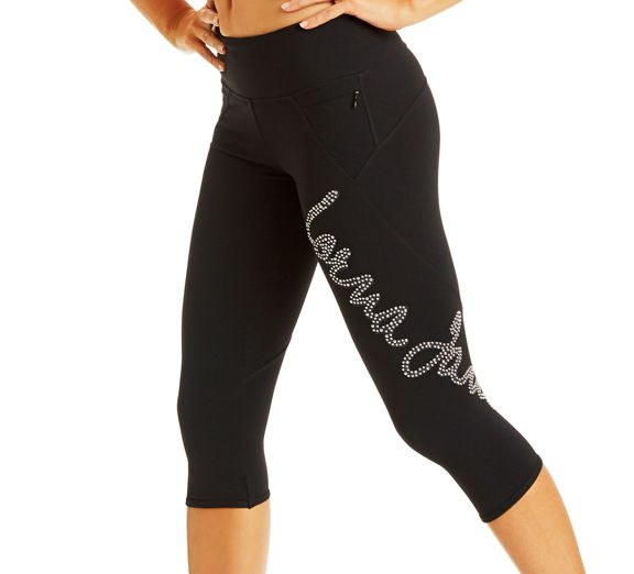 Lorna Jane Rebellion 3/4 Tight. Looking for a little bit of glitter to your workout wardrobe? Look no further! Find these stylish pants at Onsport.com.au!
