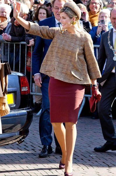 L'épouse du roi Willem-Alexander des Pays-Bas a pris la direction de Rotterdam…