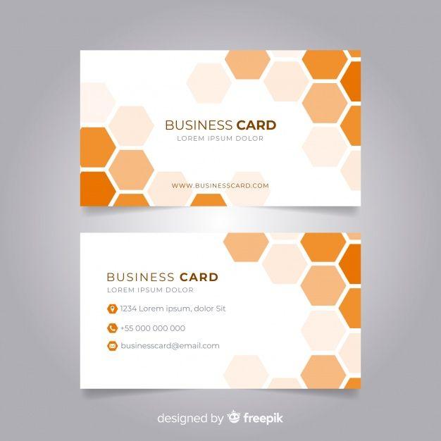 Streszczenie Szablon Wizytowki Z Geometryczny Wzor Typography Design Tutorial Name Card Design Business Card Template