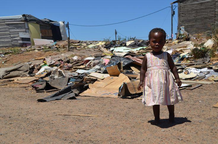 Cute little girl in Langa Township, #CapeTown