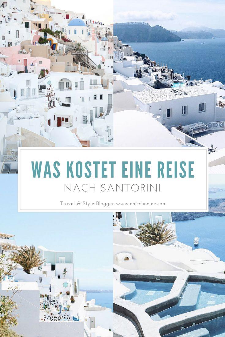 TRAVEL SANTORINI: Was kostet eine Reise nach Santorini - Griechenland. Kostenaufstellung ONLINE  http://www.chicchoolee.com/2016/06/urlaub-auf-santorini-kosten/