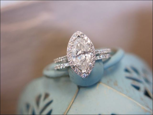 wedding band for marquise engagement ring 17