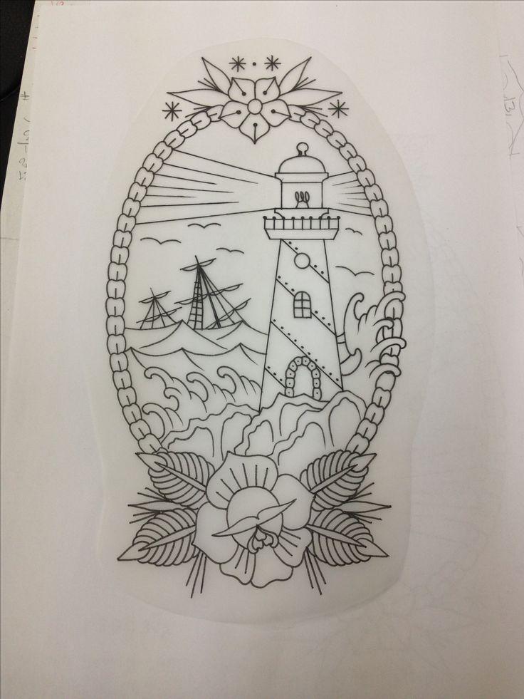 best 25 traditional lighthouse tattoo ideas on pinterest