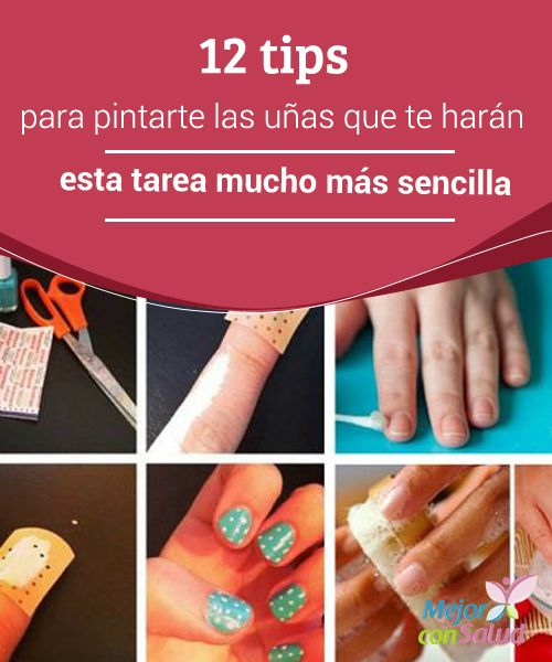 12 tips para pintarte las uñas que te harán esta tarea mucho más sencilla  El cuidado de las uñas se ha convertido en un paso imprescindible en la rutina de belleza, ya que estas se han convertido en una carta de presentación ante las demás personas.