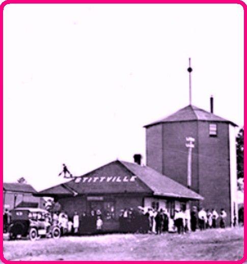 STITTSVILLE, Ontario - CPR train station p1920