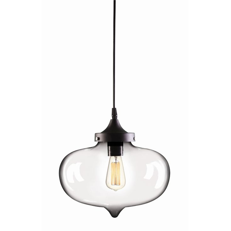Brilliant 27cm Clear Laurent Pendant Light $69
