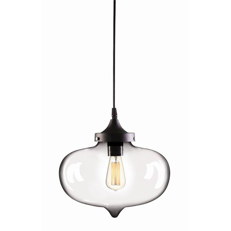 Brilliant 27cm Clear Laurent Pendant Light #vintage #ceilingpendant #elegant