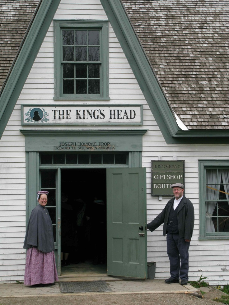 Welcome to the historical settlement of Kings Landing, New Brunswick,