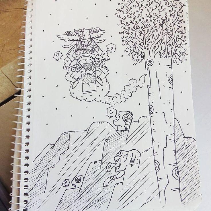 """""""Dr-w-ng / #dibujo  #drawing"""""""