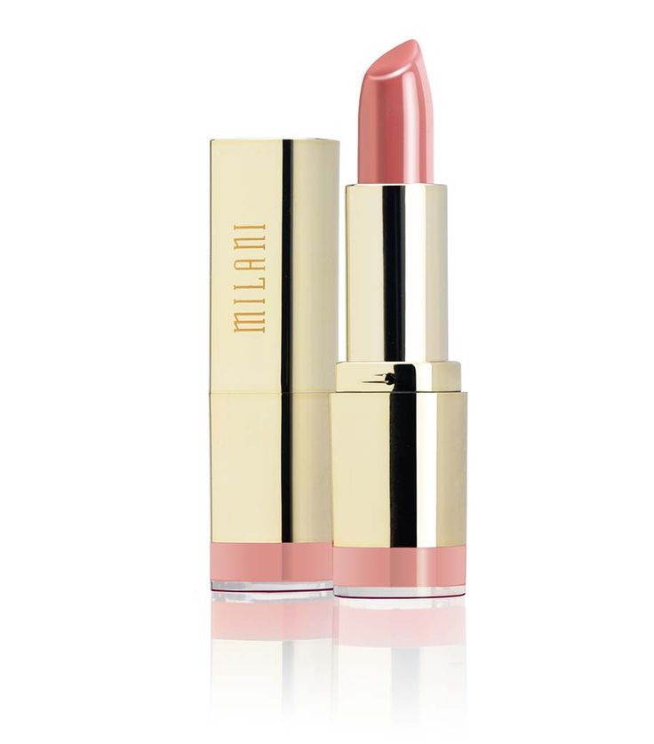 Milani Color Statement Lipstick Nude Creme Fall Smokey Eye With A Pop Of Color (Drugstore Products)