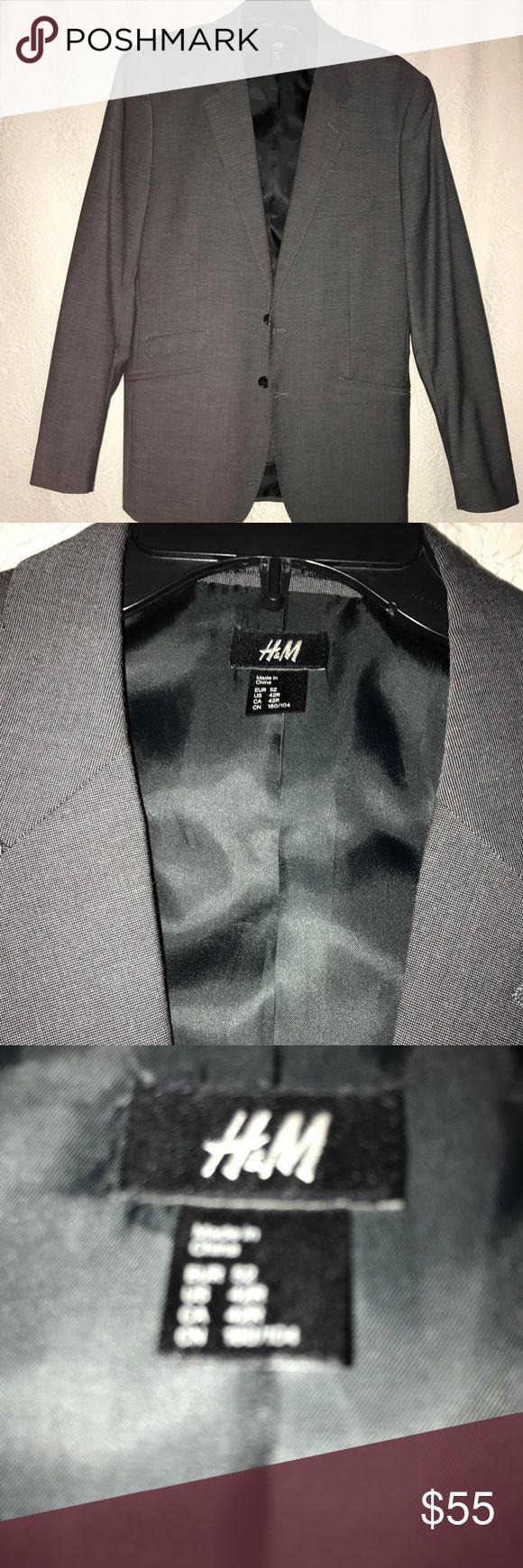H&M Gray Sport Coat 42R H&M Gray Sport Coat 42R H&M Suits & Blazers Sport Coats & Blazers