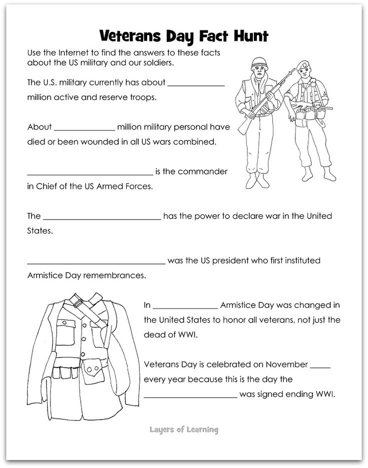 296 best images about Activities for Veteran's Day on Pinterest ...