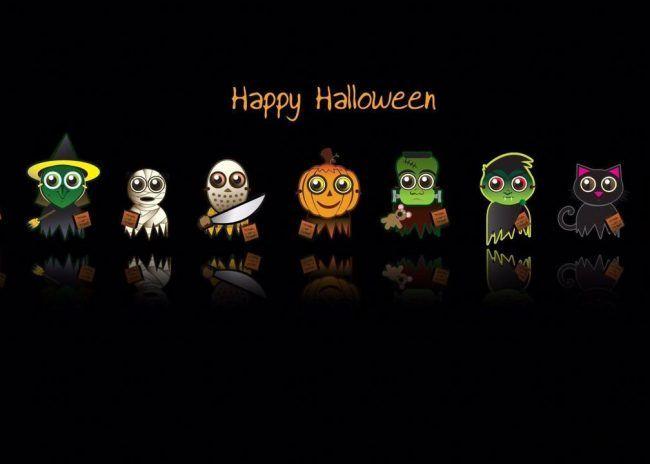 Halloween Cartoon Wallpapers Halloween Facebook Cover