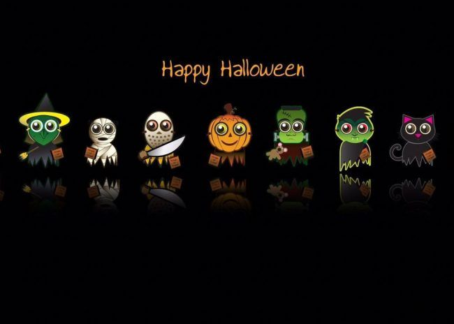 Halloween Cartoon Wallpapers Halloween Facebook Cover Halloween Cover Photos Halloween Wallpaper Cute