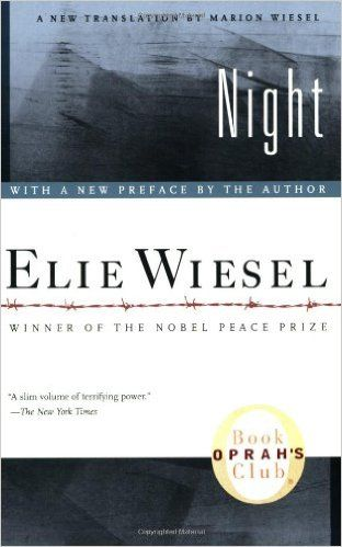 Vickie's Kitchen and Garden: Book Review:  Night by Elie Wiesel