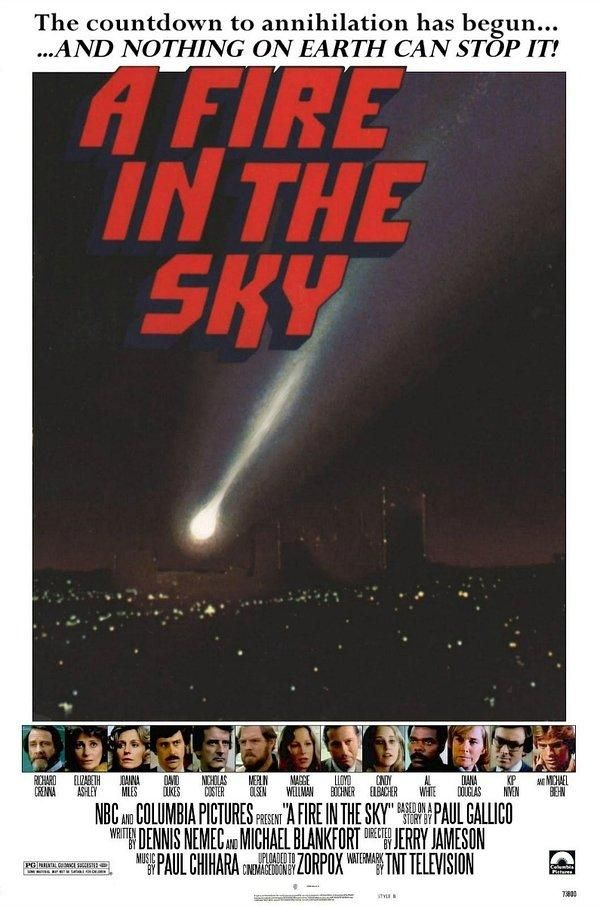 A Fire in the Sky (TV Movie 1978)