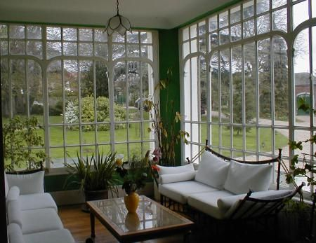 An Amazing Sunroom. Garden HousesGarden DecorationsWinter ...