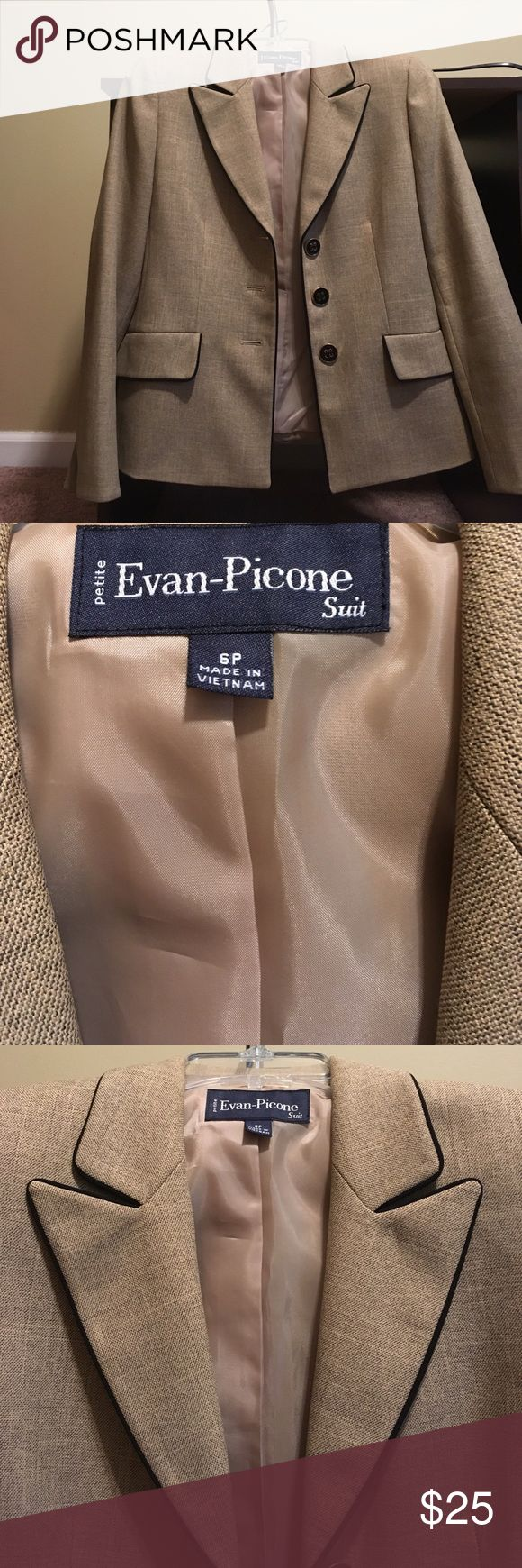 Size 6P Ebony -Picone Suit Jacket See tag pic for details Other