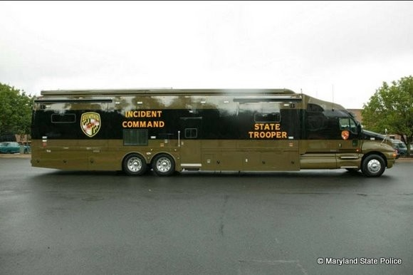 Maryland State police Rig Built by Kingsley Coach