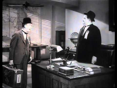 Laurel and Hardy in 'The Flying Deuces' (1939)