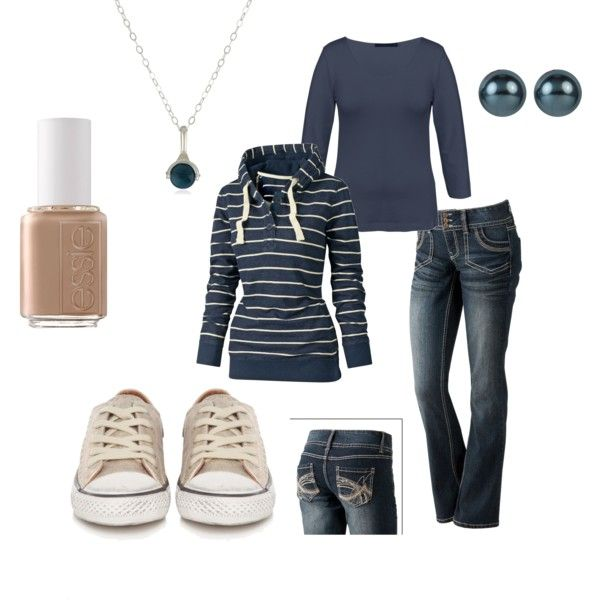 Cloudy Day Blue, created by shemshay on Polyvore