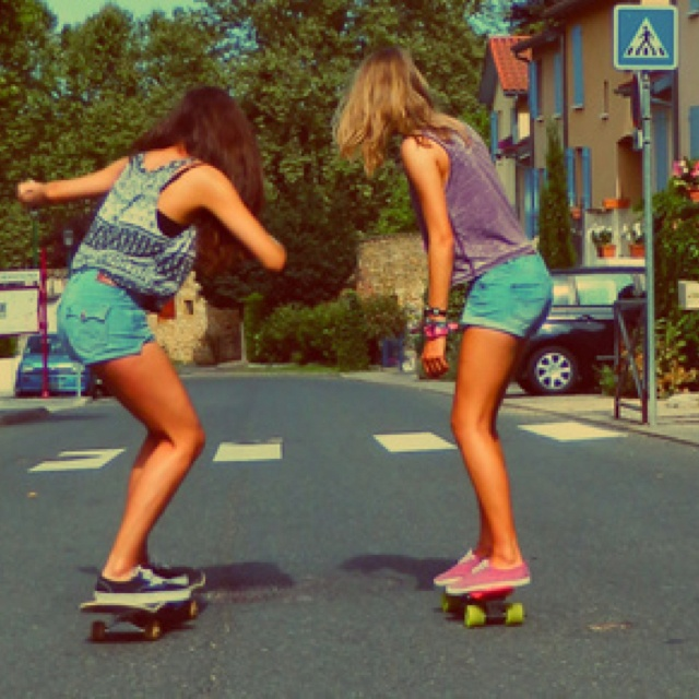 Love it!!! Longboard for life!! (you know, until I'm too old and I would break my back the second I got on it. So longboard until I'm to old to do it. :)