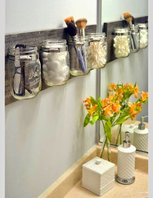 Organize sem Frescuras   Rafaela Oliveira » Arquivos » Reutilize potes de vidro…