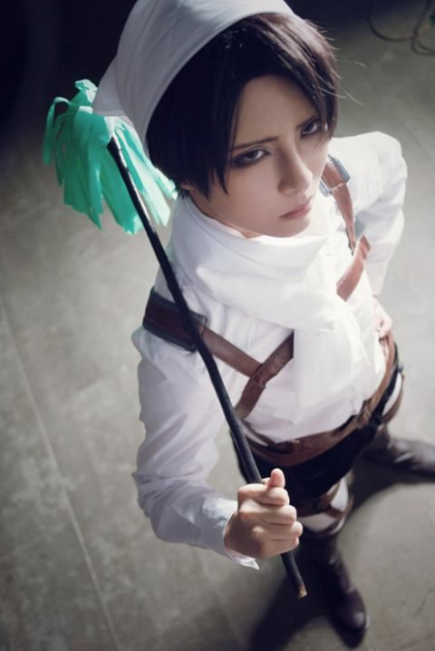 AMAZING cosplay ll Attack on Titan ll Survey Corps Special Operations Squad: Levi Ackerman