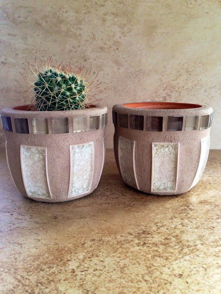 A personal favorite from my Etsy shop https://www.etsy.com/listing/507790425/tiny-mosaic-flower-pots-small-planters