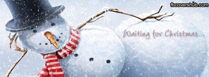 Waiting for Christmas Fb Cover Facebook Timeline Cover - FB Cover #Christmas