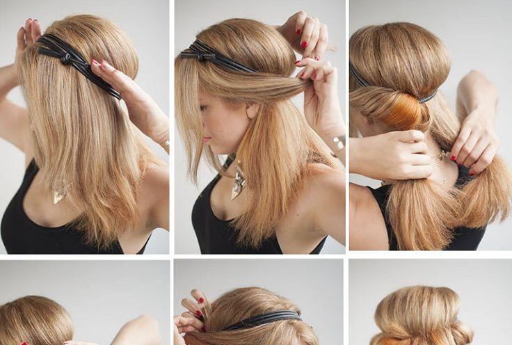 Elegant Updo #hairstyle #updo #tutorial