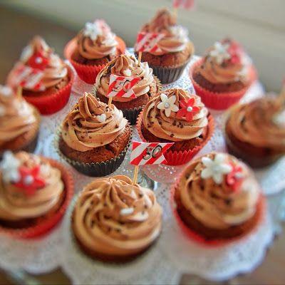 Marianne-suklaamuffinssit Pätkis-sydämellä