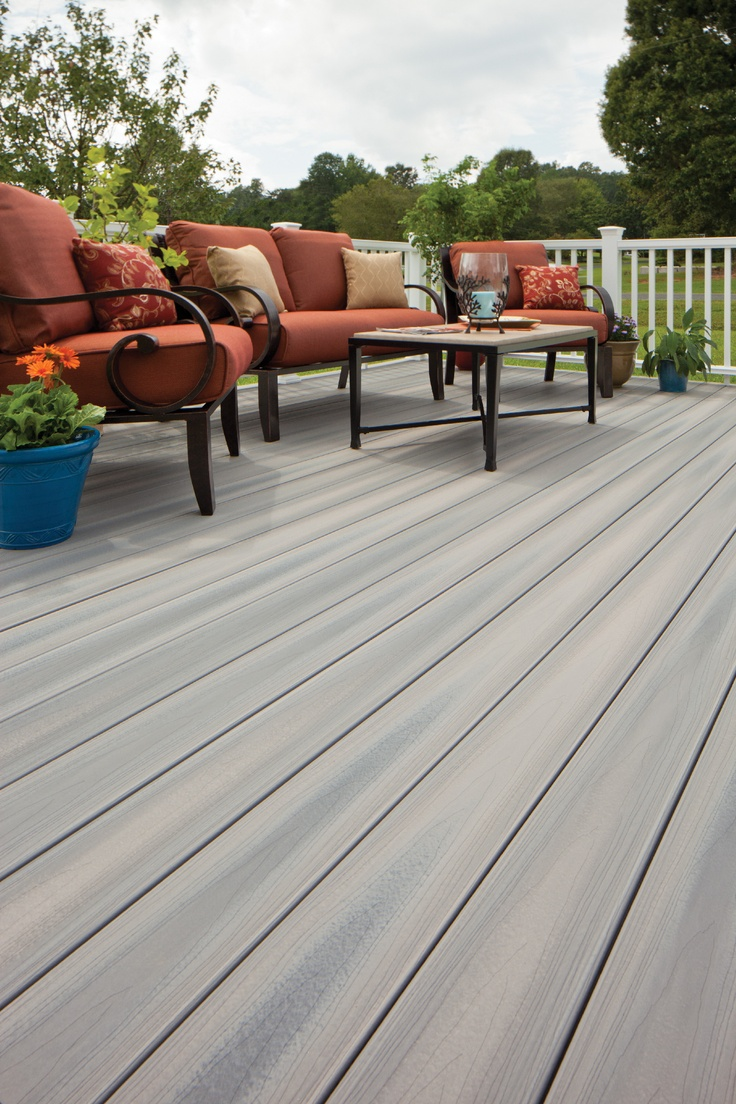 Fiberon horizon decking greystone outdoor living for Grey stone deck