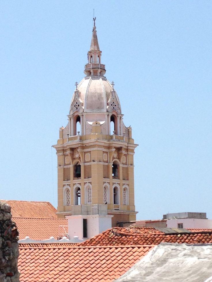 Cúpula de la Catedral. Cartagena, Colombia.